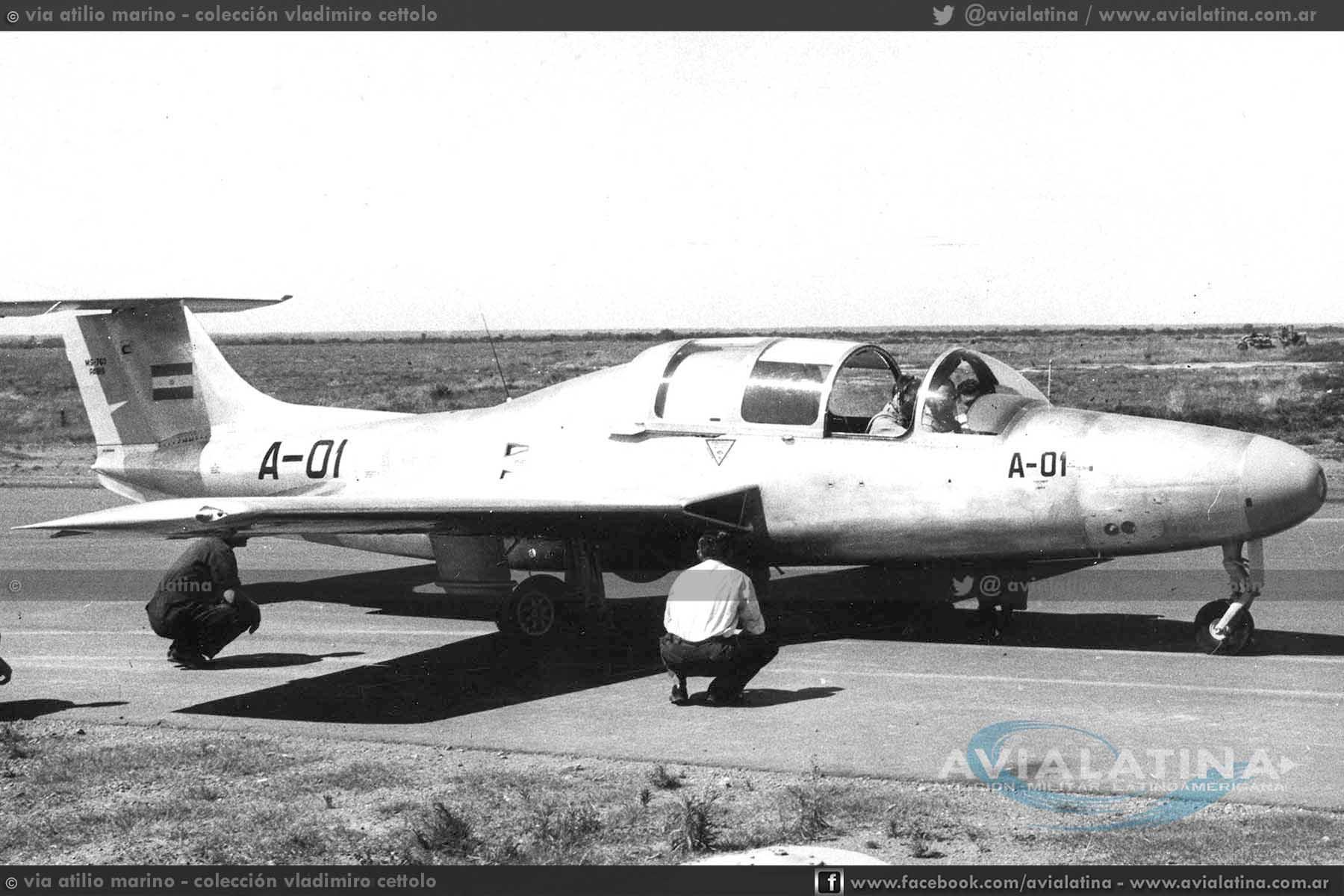 Aniversario Aeronáutico – Primer vuelo del MS-760 Paris armado en Argentina – 27Oct58