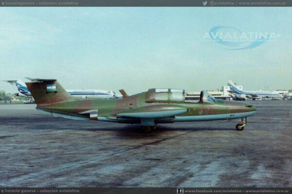 Mientras operaba con el Grupo Aéreo Escuela, en Nov80.