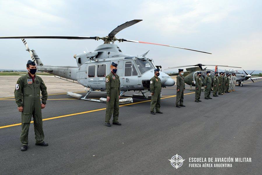 Bell 412EP en reemplazo del  Hughes 500D para misiones SAR  en la EAM