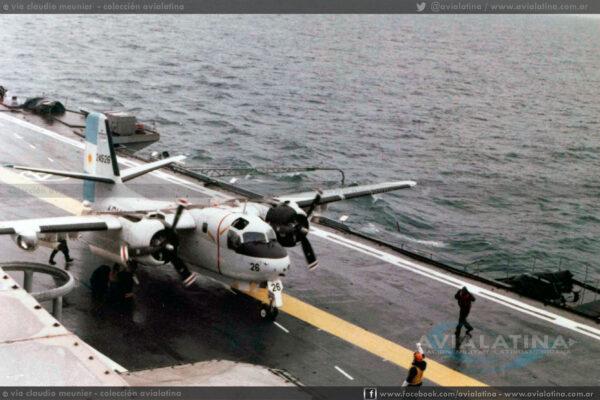 el 2-AS-26 operando en el ARA (V2) 25 de Mayo