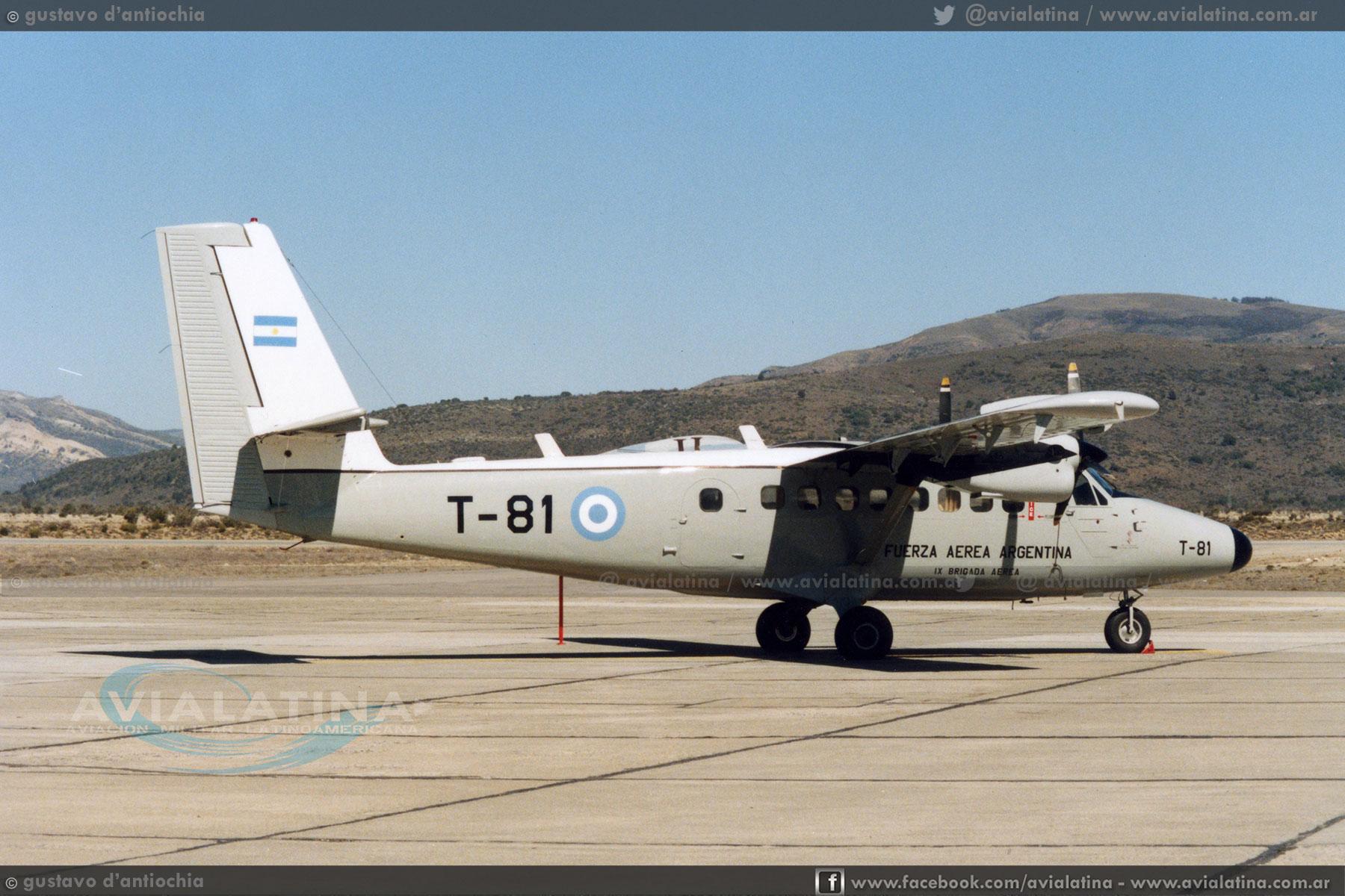 52 Años de la incorporación de los DHC-6 Twin Otter