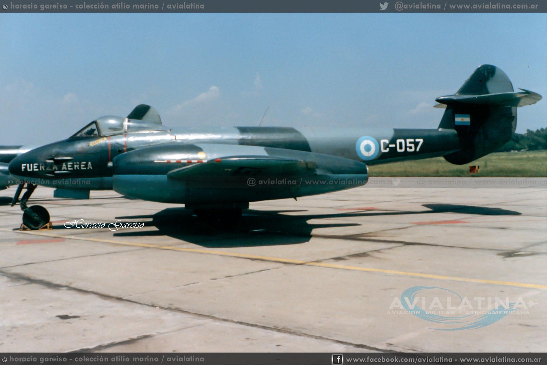 A 50 años del último vuelo de Gloster Meteor