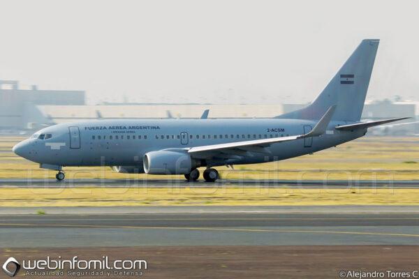 Boeing 737-700 Fuerza Aerea Argentina 2ACSM