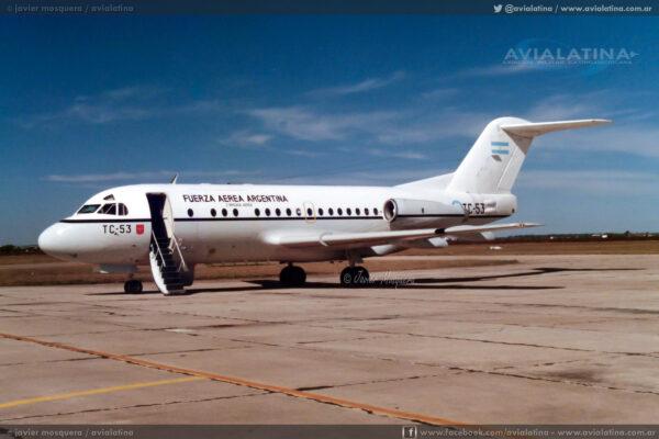 """EL TC-53 arribó como """"Litro 6""""."""