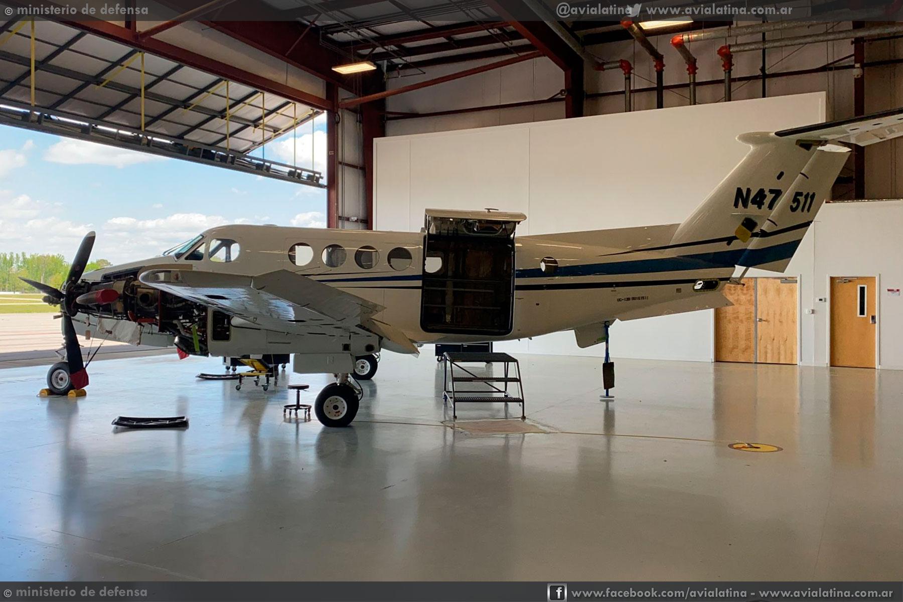 Se formalizó la adquisición de los TC/UC-12B para la Fuerza Aérea Argentina