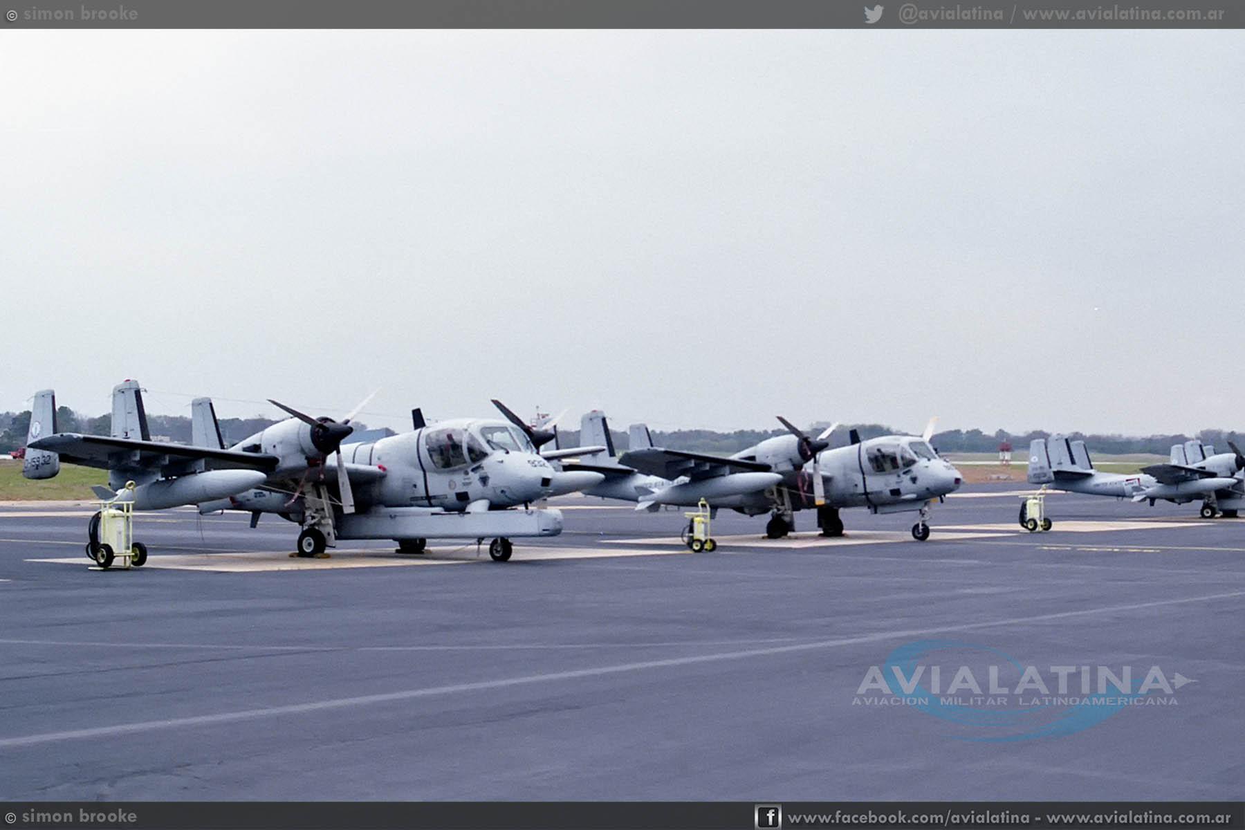 A través de tres continentes – La historia previa de los Mohawk de la Aviación de Ejército – Parte I