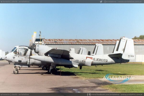 Ya como AE-029 en Campo de Mayo, 25Abr95. (Horacio J. Clariá)