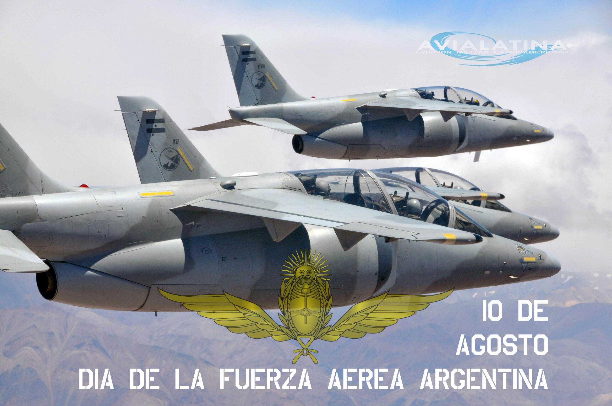 Día de la Fuerza Aérea Argentina – El despliegue a la I Brigada Aérea.