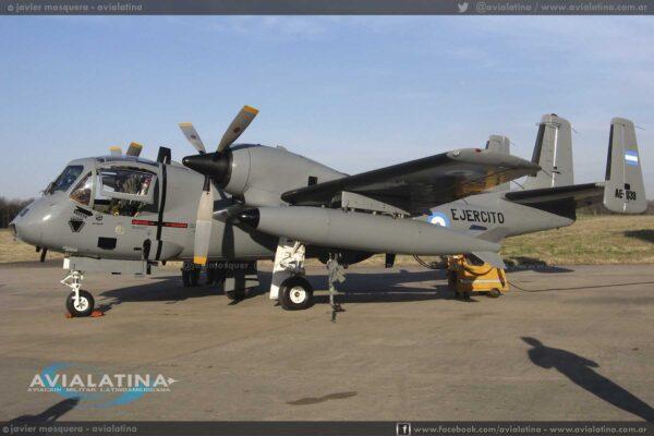 Previo al primer vuelo luego de la vuelta al servicio del sistema, el 25Ago09. (Javier Mosquera)