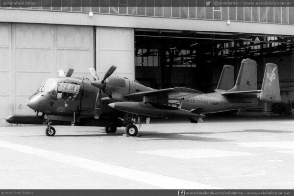 Uno de los OV-1B destinados en Alemania y reemplazados por los mas modernos OV-1D en 1972 fue el 62-5901. (Manfred Faber)