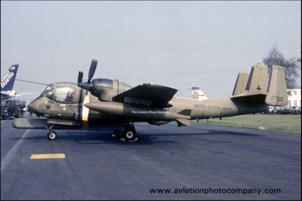 El 67-17012 mientras operaba en el 2nd M.I. Bn. en Alemania. (aviationphotocompany)