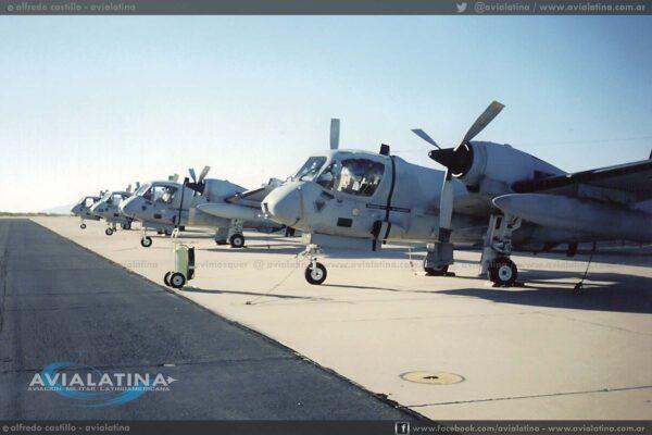 En la rampa de Ft. Huachuca, previo a iniciar el ferry a la Argentina. (Alfredo Castillo).